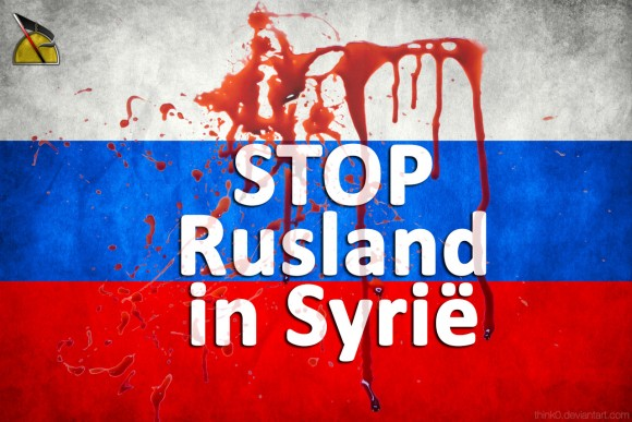 stop rusland in syrie